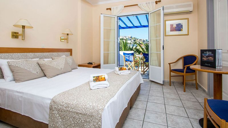 Interconnected Family Apartment with terrace Syros Atlantis Hotel